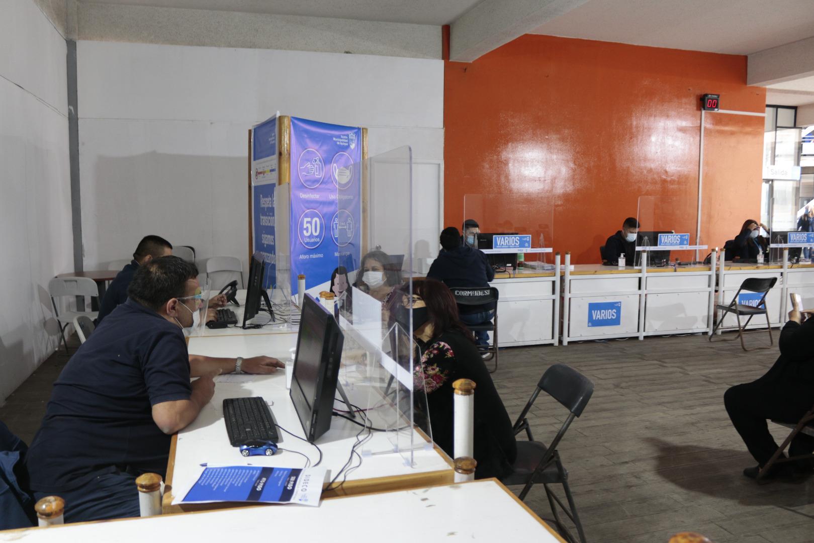 Desde el 19 de octubre la Municipalidad de Iquique extiende horario de atención