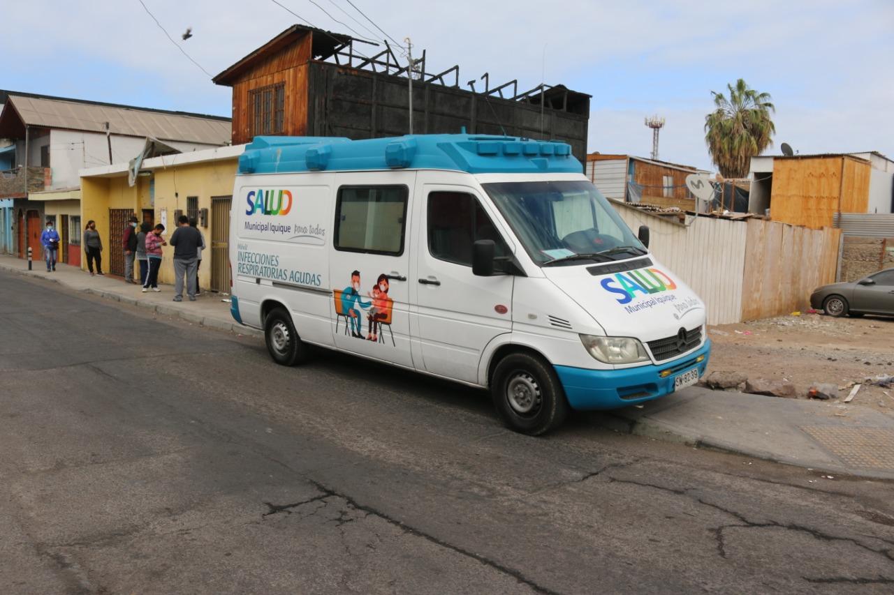 Salud Municipal de Iquique ya ha realizado cerca de 16.700 exámenes PCR durante emergencia sanitaria por COVID-19