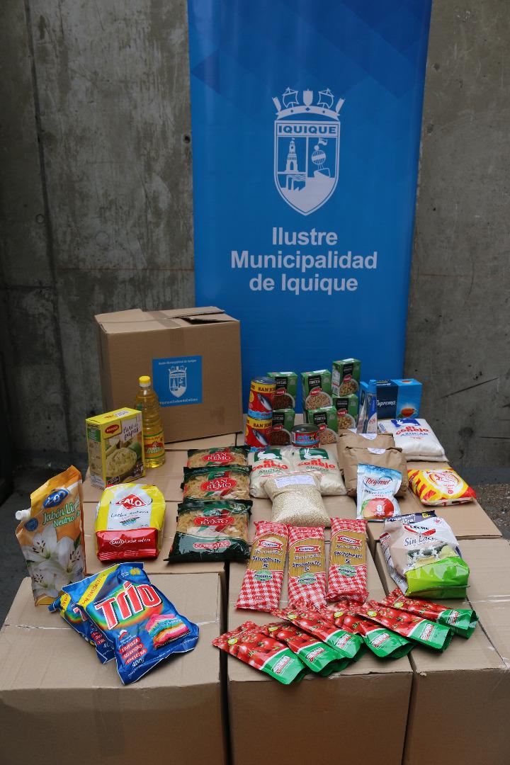 Municipalidad de Iquique ya ha entregado más de 48 mil ayudas sociales durante emergencia sanitaria