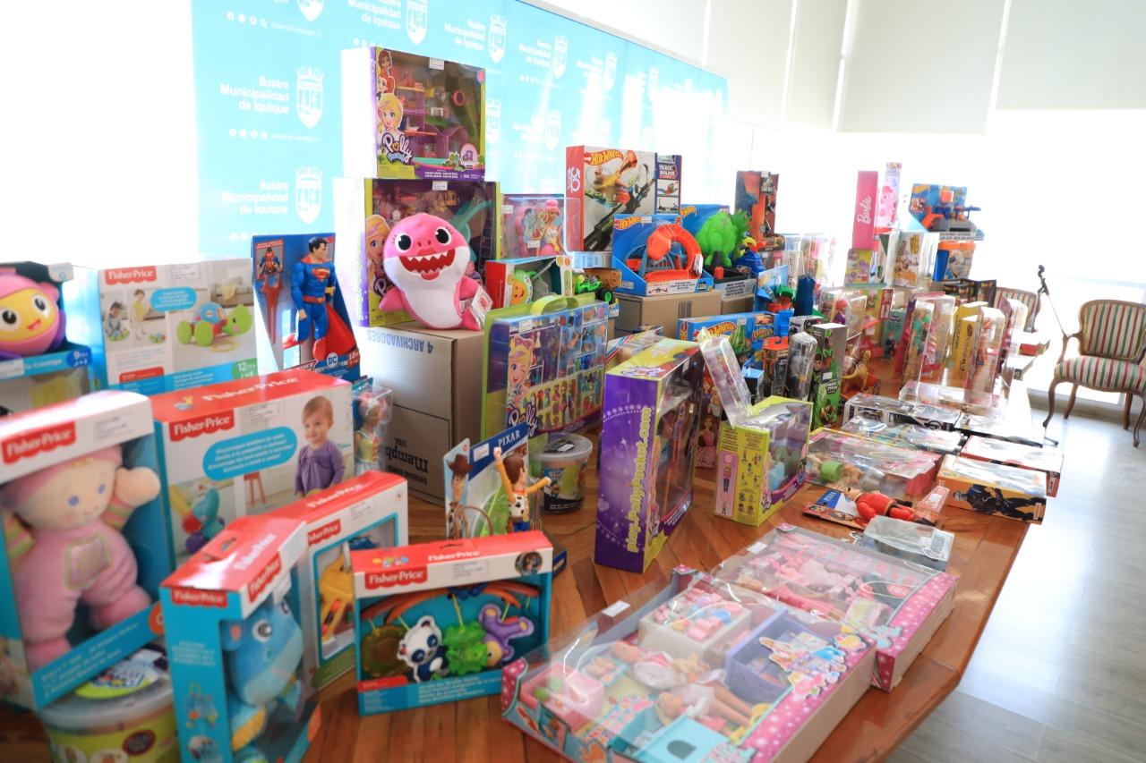 Más de 7 mil niños y niñas de Iquique fueron inscritos para recibir regalos de Navidad 2020