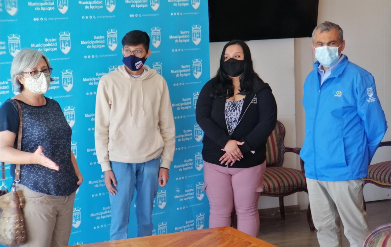Estudiantes de establecimientos municipales representarán a la Región en travesía escolar en la Antártica