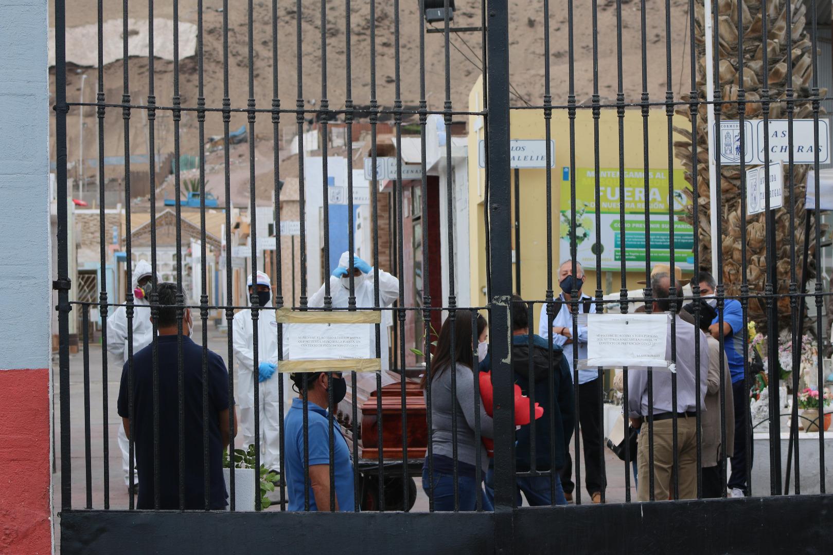 Comudesi genera protocolo de visitas a cementerios públicos de Iquique