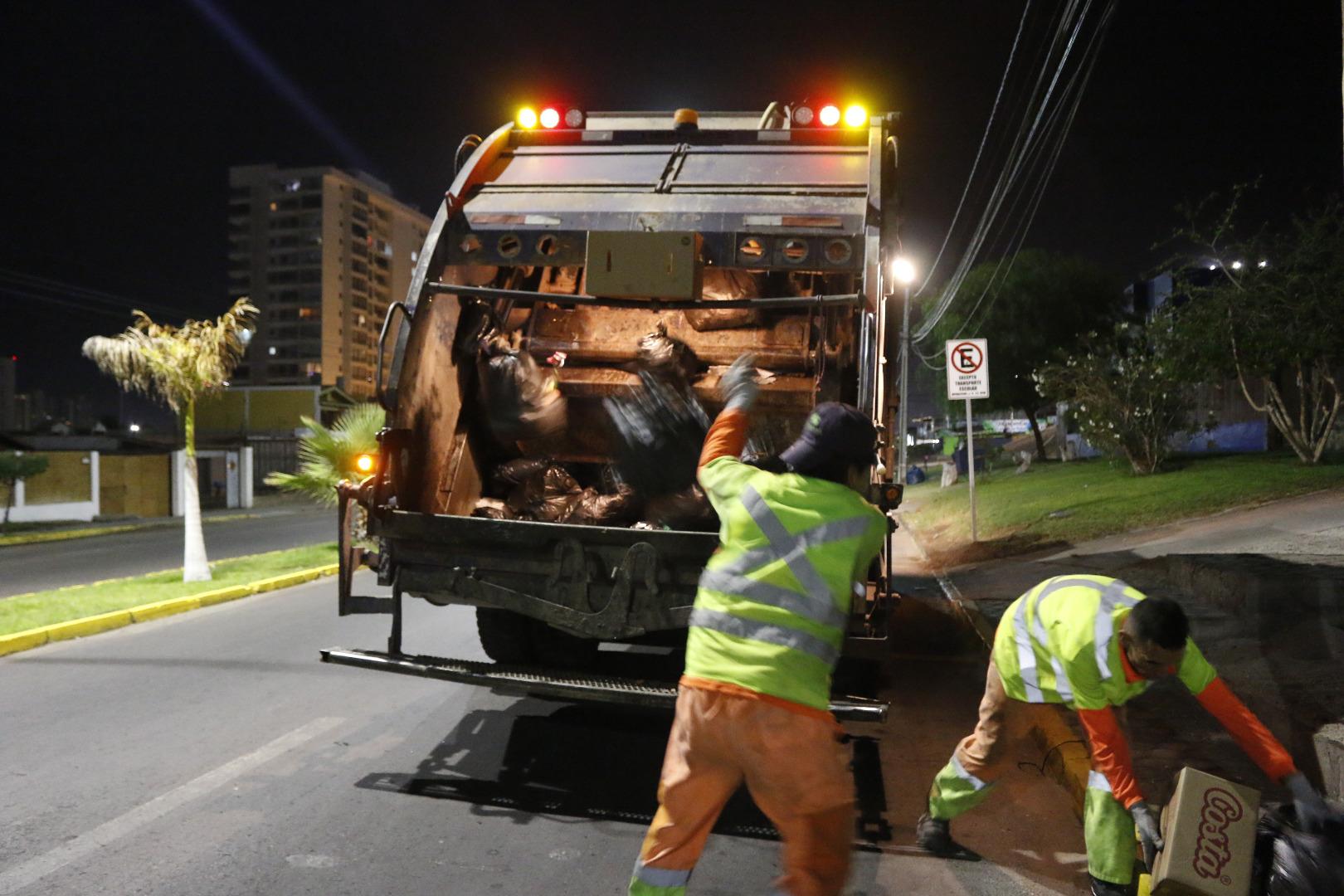 ¡¡Atención Iquique!!: Este 31 de diciembre no habrá servicio de extracción de basura domiciliaria