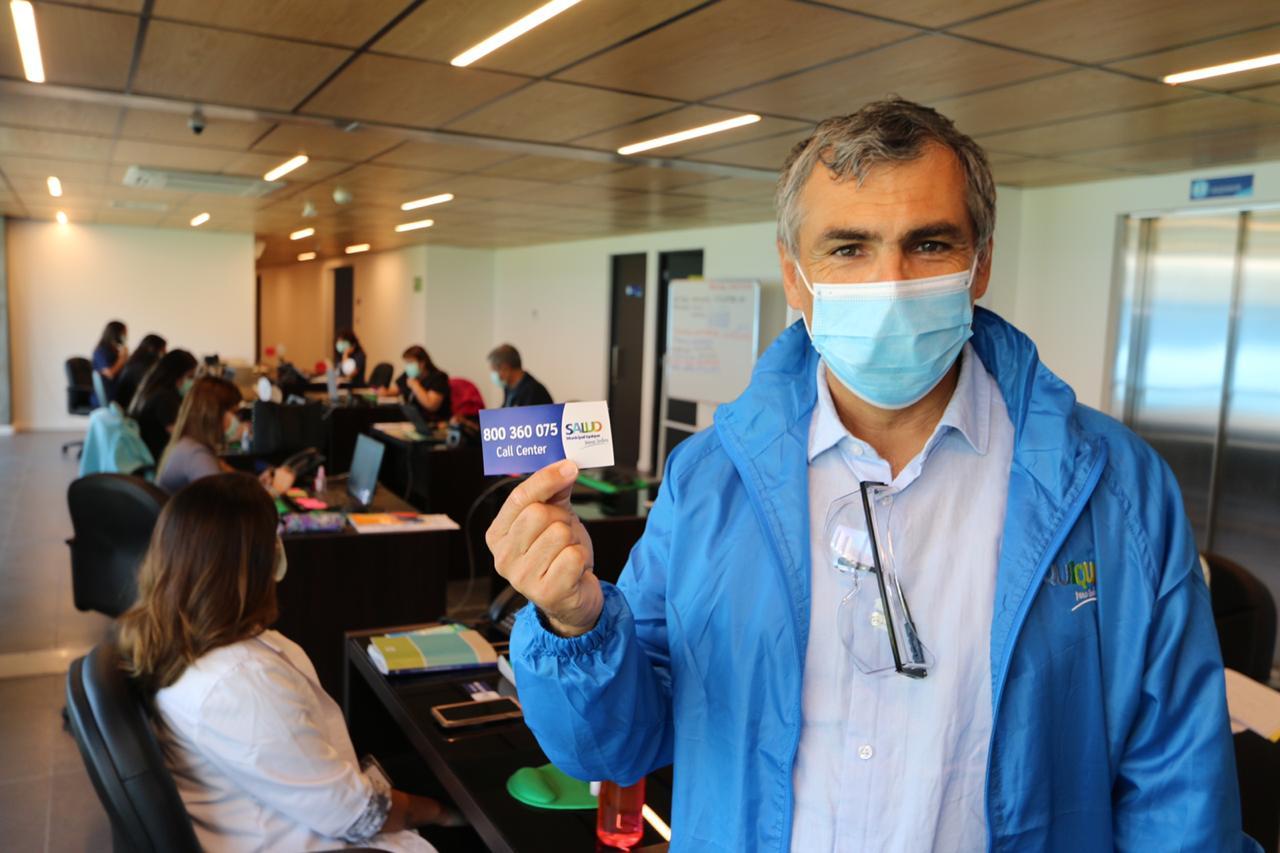 Más de 17.000 atenciones entregó Central de Llamados de la Salud Municipal de Iquique durante 2020