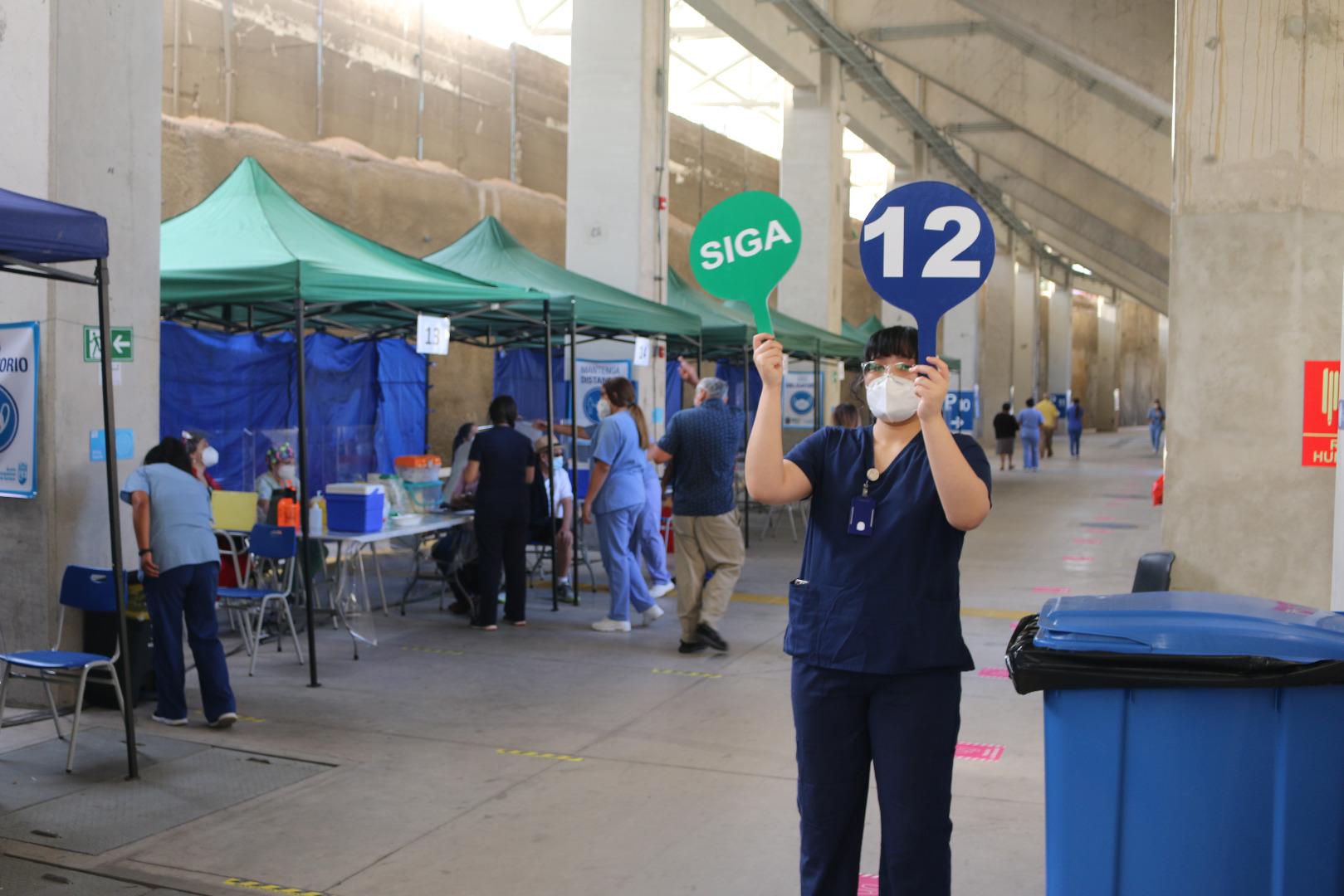 Vacunatorio contra el COVID-19 del Estadio Municipal Tierra de Campeones funcionará este sábado 08 de mayo