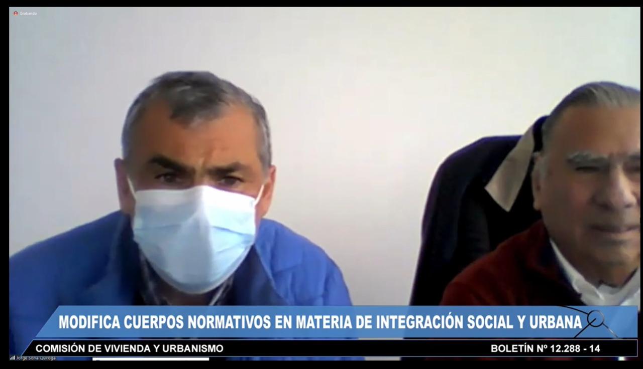 ALCALDE SORIA VALORA PROYECTO DE PLAN DE EMERGENCIA DE HABITABILIDAD QUE INCORPORA A COOPERATIVAS DE VIVIENDA
