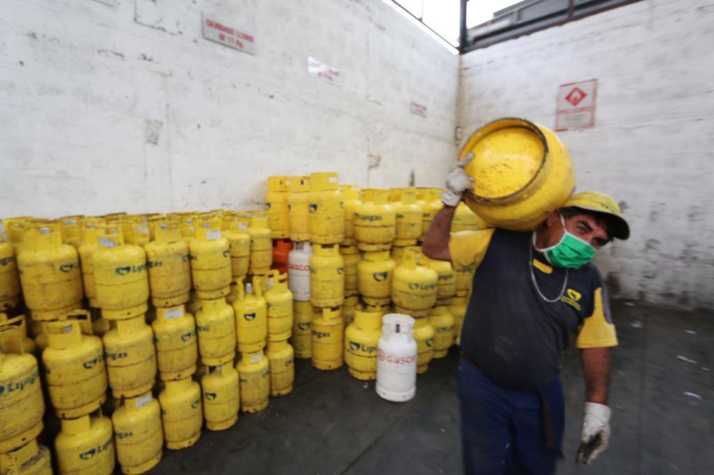 Gas licuado covid